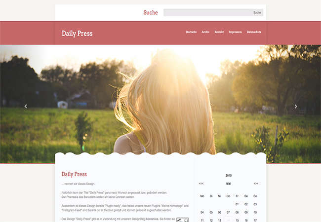 Daily Press (responsive)